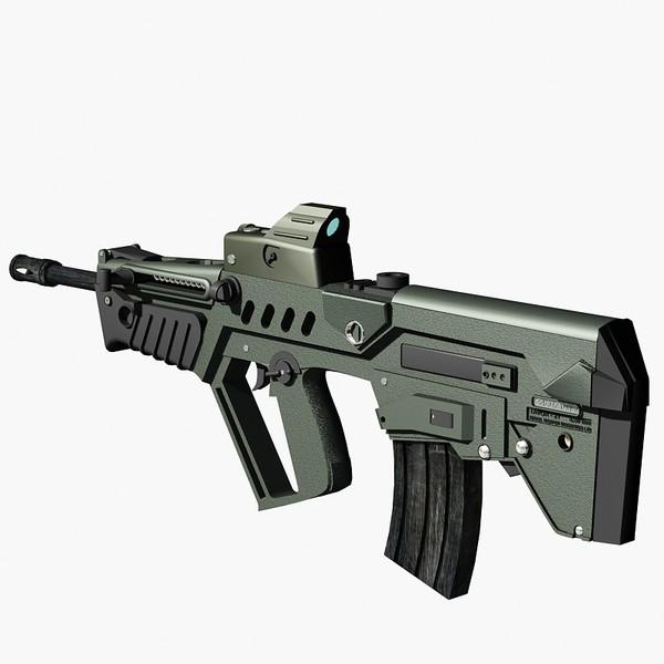 Israeli Tavor Assault Rifle